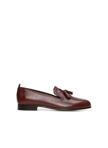 George Hogg Kadın Loafer Ayakkabı 7004710 Taba